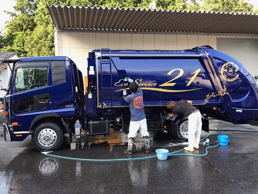車両の清掃